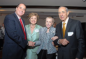 Marylou Whitney at MHF Event with Gov and Mrs Cuomo