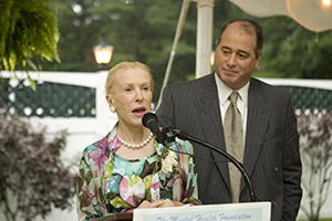 Marylou Whitney at MHF Event